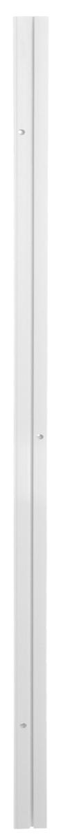 Карниз шинный Эскар, однорядный, с аксессуарами, цвет: белый, длина 1,5 м270008150Однорядный шинный карниз Эскар, выполненный из пластика белого цвета, подходит для штор любого типа. Такой вид карнизов прост по конструкции (шины и бегунки) и будет практически не заметен. Способ крепления таких карнизов, в основном, потолочный. Помимо практичности, шинный карниз обладает рядом других преимуществ: при открытии и закрытии штор он создает минимум шума. Такой карниз также является водостойким, что позволяет использовать его в ванной комнате и на балконе. Он подойдет для любых видов штор, за исключением очень тяжелых тканей. В комплекте - карниз, 15 крючков, аксессуары для крепления.