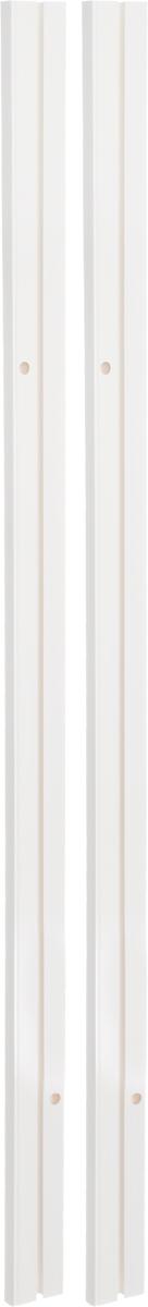 Карниз шинный Эскар, составной, однорядный, с аксессуарами, цвет: белый, длина 2 м270007200Однорядный составной шинный карниз Эскар, выполненный из пластика, подходит для штор любого типа. Такой вид карнизов прост по конструкции (шины и бегунки) и будет практически не заметен. Способ крепления потолочный. Помимо практичности, шинный карниз обладает рядом других преимуществ: при открытии и закрытии штор он создает минимум шума. Такой карниз также является водостойким, что позволяет использовать его в ванной комнате и на балконе. Он подойдет для любых видов штор, за исключением очень тяжелых тканей. В комплекте - 2 части карниза, 24 крючка, аксессуары для крепления.