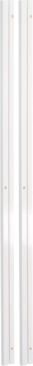 Карниз шинный Эскар, составной, однорядный, с аксессуарами, цвет: белый, длина 2,4 мES-412Однорядный составной шинный карниз Эскар, выполненный из пластика, подходит для штор любого типа. Такой вид карнизов прост по конструкции (шины и бегунки) и будет практически не заметен. Способ крепления потолочный. Помимо практичности, шинный карниз обладает рядом других преимуществ: при открытии и закрытии штор он создает минимум шума. Такой карниз также является водостойким, что позволяет использовать его в ванной комнате и на балконе. Он подойдет для любых видов штор, за исключением очень тяжелых тканей. В комплекте - 2 части карниза, 24 крючка, аксессуары для крепления.