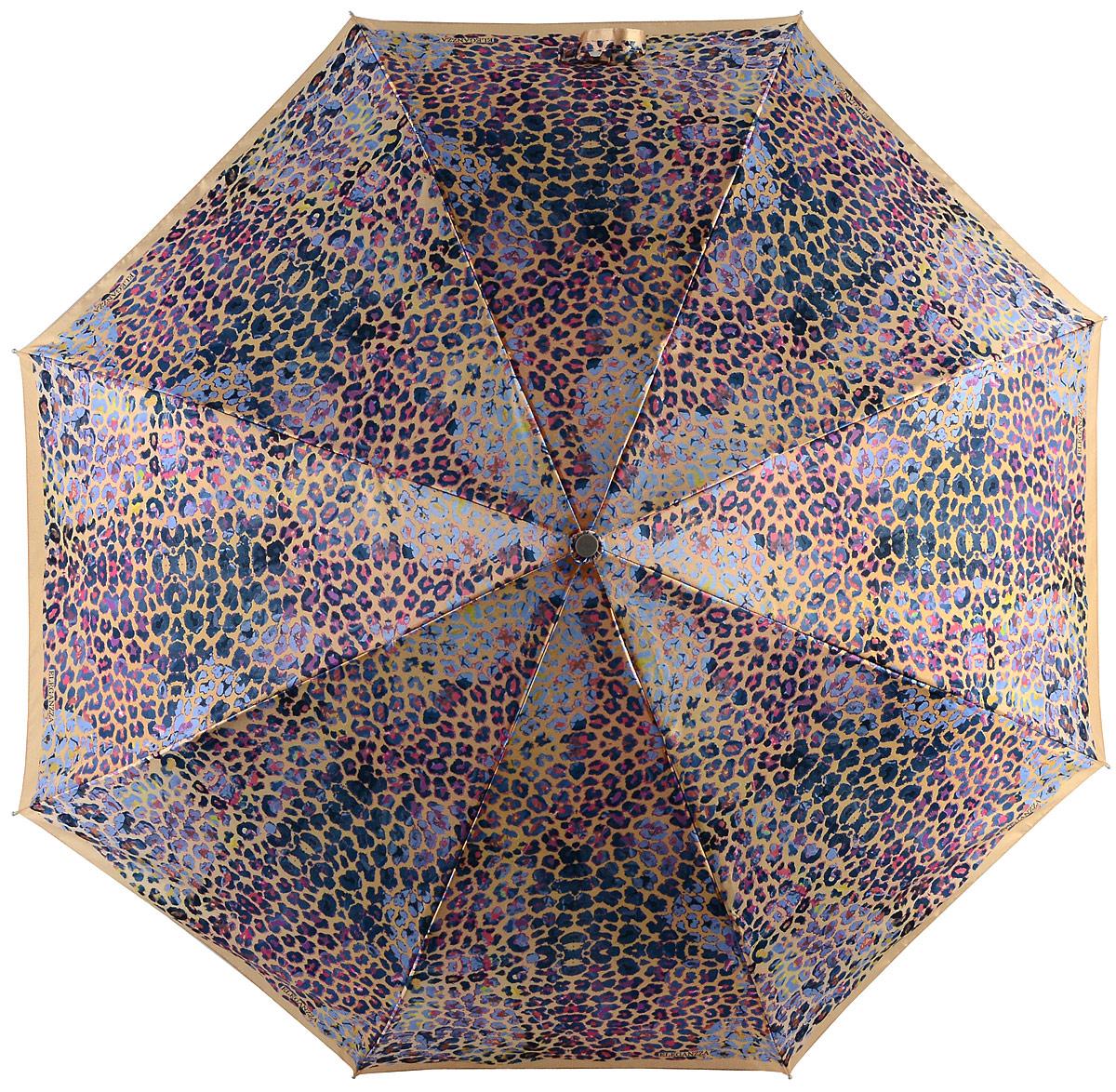 Зонт женский Eleganzza, цвет: золотой, мультиколор. A3-05-0320LS 15