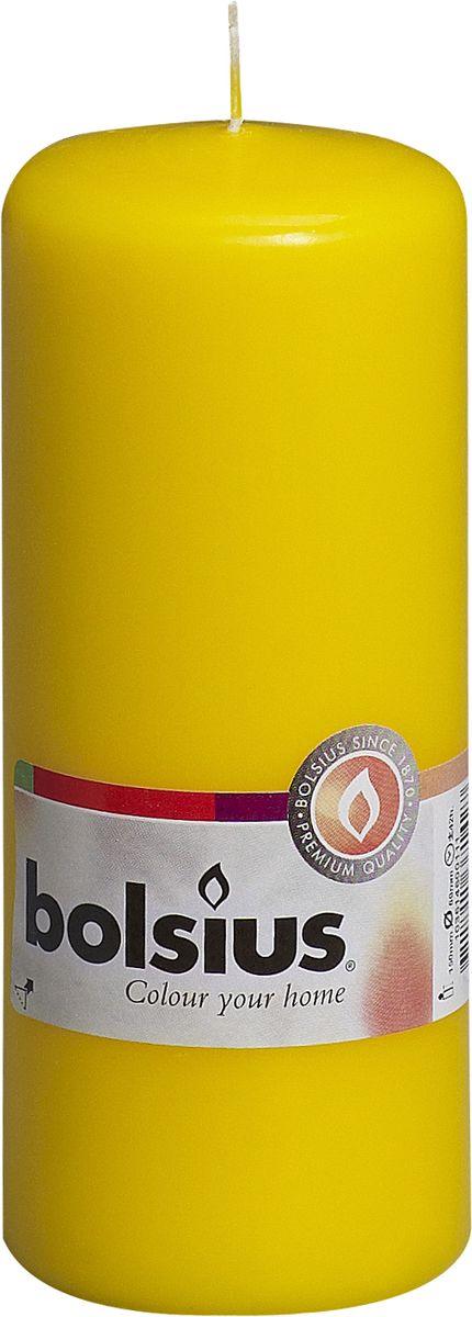 Свеча Bolsius, цвет: желтый, высота 15 смUP210DFСвеча Bolsius выполнена из парафина в классическом стиле. Ее можно поставить в любое место и она станет ярким украшением интерьера. Свеча Bolsius создаст незабываемую атмосферу, будь то торжество, романтический вечер или будничный день.