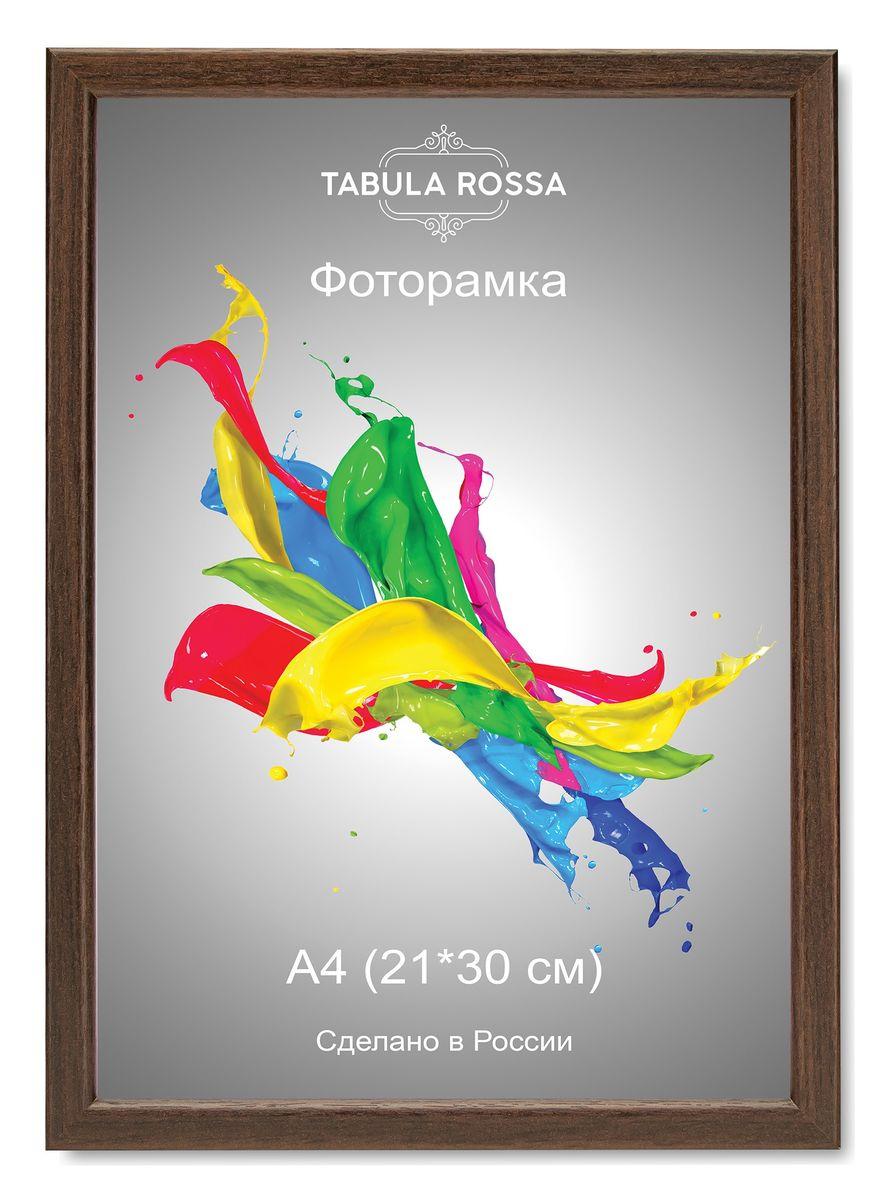 Фоторамка Tabula Rossa, цвет: венге, 21 х 30 см. ТР 5071ТР 5071Фоторамка Tabula Rossa выполнена в классическом стиле из высококачественного МДФ и стекла, защищающего фотографию. Оборотная сторона рамки оснащена специальной ножкой, благодаря которой ее можно поставить на стол или любое другое место в доме или офисе. Также изделие дополнено двумя специальными креплениями для подвешивания на стену. Такая фоторамка не теряет своих свойств со временем, не деформируется и не выцветает. Она поможет вам оригинально и стильно дополнить интерьер помещения, а также позволит сохранить память о дорогих вам людях и интересных событиях вашей жизни.