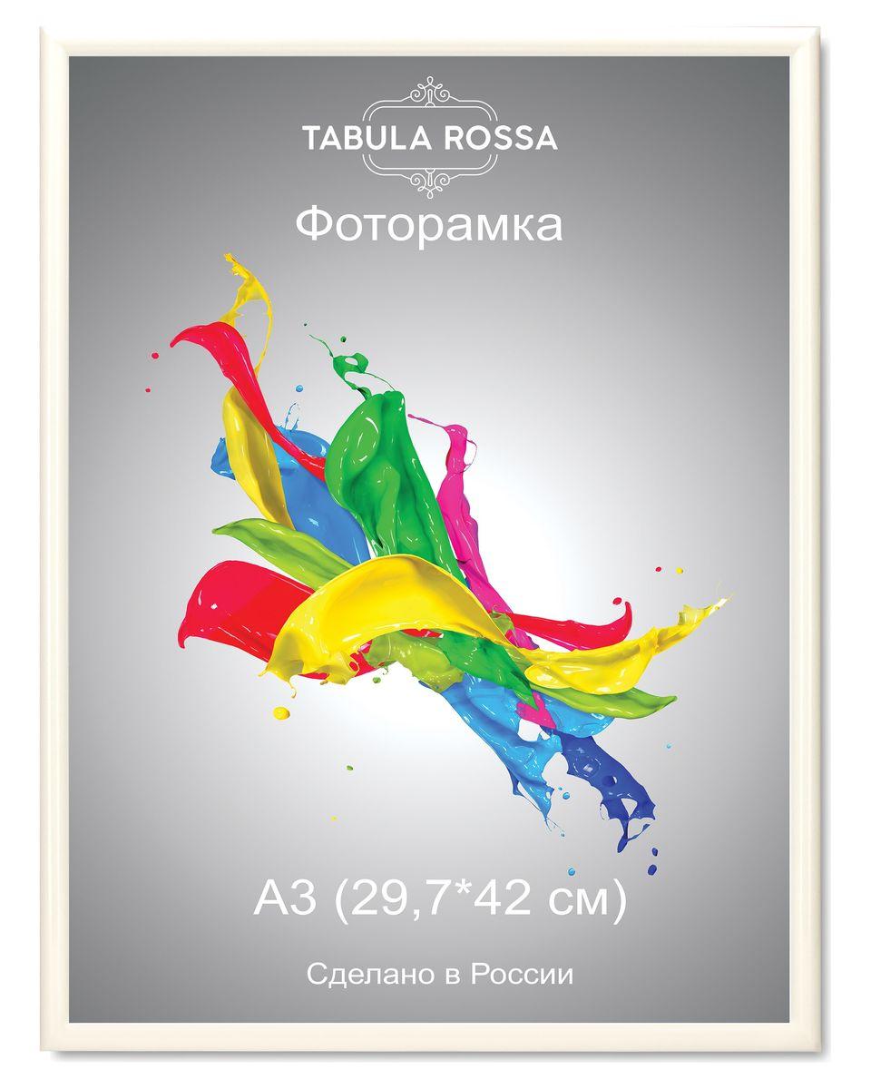 Фоторамка Tabula Rossa, цвет: белый глянец, 29,7 х 42 см. ТР 5213ТР 5213