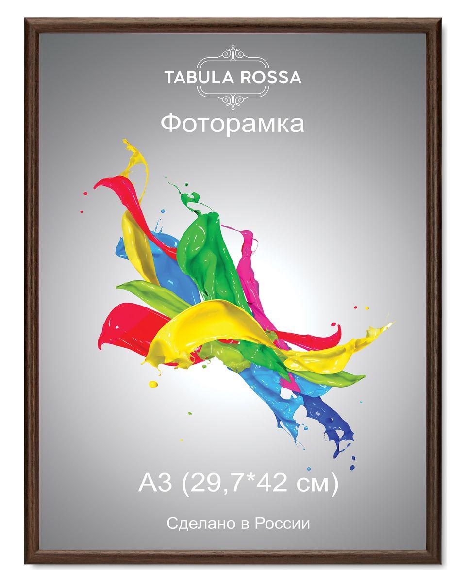 Фоторамка Tabula Rossa, цвет: венге, 29,7 х 42 см. ТР 6001ТР 6001Фоторамка Tabula Rossa выполнена в классическом стиле из высококачественного МДФ и стекла, защищающего фотографию. Оборотная сторона рамки оснащена специальной ножкой, благодаря которой ее можно поставить на стол или любое другое место в доме или офисе. Также изделие дополнено двумя специальными креплениями для подвешивания на стену. Такая фоторамка не теряет своих свойств со временем, не деформируется и не выцветает. Она поможет вам оригинально и стильно дополнить интерьер помещения, а также позволит сохранить память о дорогих вам людях и интересных событиях вашей жизни.