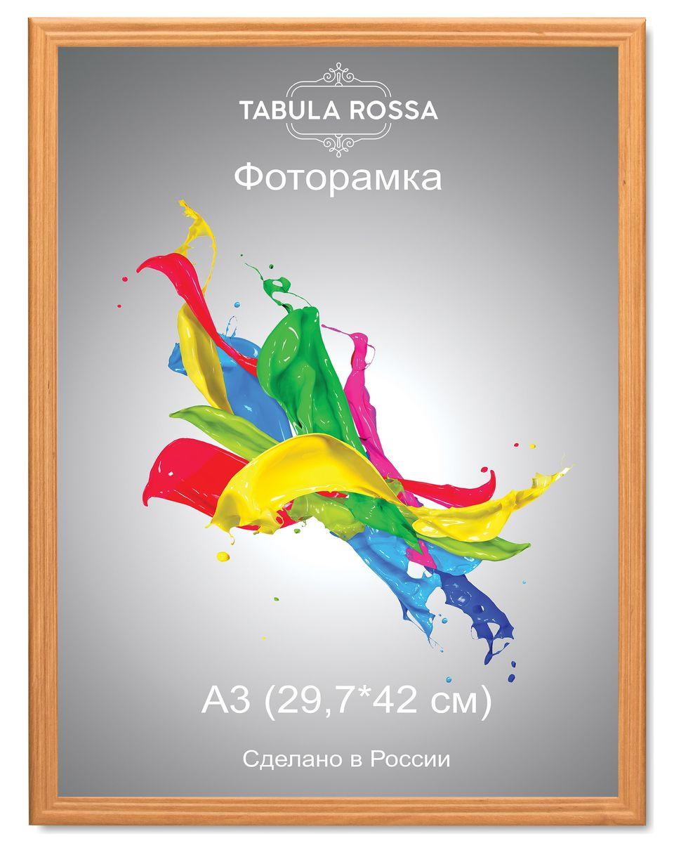 Фоторамка Tabula Rossa, цвет: ольха, 29,7 х 42 см. ТР 6021ТР 6021Фоторамка Tabula Rossa выполнена в классическом стиле из высококачественного МДФ и стекла, защищающего фотографию. Оборотная сторона рамки оснащена специальной ножкой, благодаря которой ее можно поставить на стол или любое другое место в доме или офисе. Также изделие дополнено двумя специальными креплениями для подвешивания на стену. Такая фоторамка не теряет своих свойств со временем, не деформируется и не выцветает. Она поможет вам оригинально и стильно дополнить интерьер помещения, а также позволит сохранить память о дорогих вам людях и интересных событиях вашей жизни.