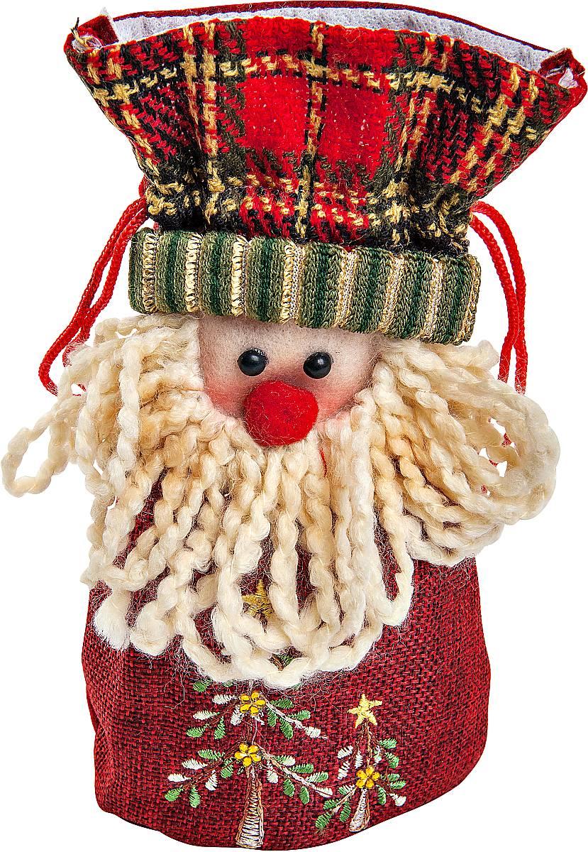 Мешок для подарков Mister Christmas Дед Мороз, длина 20 см24143 0Мешок для подарков Mister Christmas Дед Мороз выполнен из полиэстера в виде мягкой фигуры Деда Мороза. В мешочек можно спрятать подарки. Такой аксессуар особенно актуален в преддверии новогодних праздников. Откройте для себя удивительный мир сказок и грез. Почувствуйте волшебные минуты ожидания праздника, создайте новогоднее настроение вашим дорогим и близким.