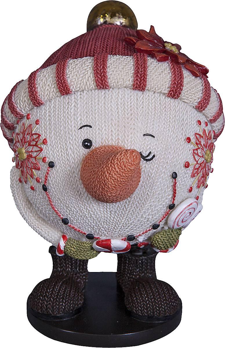 Статуэтка Mister Christmas Снеговик, высота 13 см. SM-5ASM-5AСтатуэтка Mister Christmas Снеговик выполнена из полистоуна в виде забавного снеговика. Она привлекает к себе внимание и буквально умиляет, заставляя улыбнуться. Такой сувенир станет отличным подарком родным или друзьям на Новый год, а также он украсит интерьер вашего дома или офиса. Высота статуэтки: 13 см.
