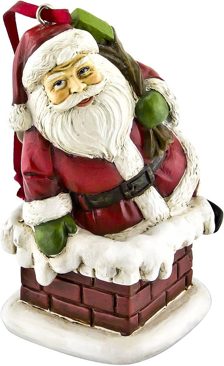 Украшение новогоднее подвесное Mister Christmas Дед Мороз, высота 10 см. TM-A-1TM-A-1Украшение новогоднее декоративное Mister Christmas Дед Мороз прекрасно подойдет для праздничного декора вашего дома. Изделие выполнено из полистоуна и оснащено петелькой для подвешивания. Новогодние украшения несут в себе волшебство и красоту праздника. Они помогут вам украсить дом к предстоящим праздникам и оживить интерьер. Создайте в доме атмосферу тепла, веселья и радости, украшая его всей семьей. Кроме того, такая игрушка станет приятным подарком, который надолго сохранит память этого волшебного времени года. Высота украшения: 10 см.