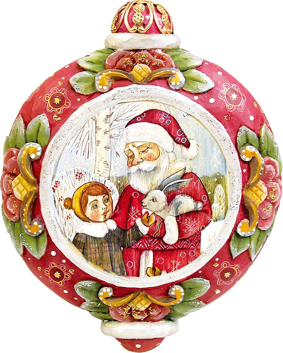 Украшение новогоднее подвесное Mister Christmas, коллекционное, высота 10 см. US 61024-31US 61024-31Коллекционное украшение Mister Christmas Олени прекрасно подойдет для праздничного декора вашего дома. Изделие выполнено из полистоуна и оснащено креплением для подвешивания на елку. Новогодние украшения несут в себе волшебство и красоту праздника. Они помогут вам украсить дом к предстоящим праздникам и оживить интерьер. Создайте в доме атмосферу тепла, веселья и радости, украшая его всей семьей. Кроме того, такая игрушка станет приятным подарком, который надолго сохранит память этого волшебного времени года. Высота украшения: 10 см.