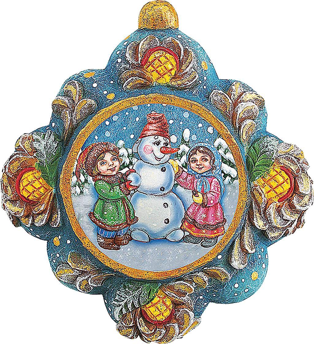 Украшение новогоднее подвесное Mister Christmas Детишки слепили снеговика, коллекционное, высота 10 см531-401Коллекционное украшение Mister Christmas Детишки слепили снеговика прекрасно подойдет для праздничного декора вашего дома. Изделие выполнено из полистоуна и оснащено креплением для подвешивания на елку. Новогодние украшения несут в себе волшебство и красоту праздника. Они помогут вам украсить дом к предстоящим праздникам и оживить интерьер. Создайте в доме атмосферу тепла, веселья и радости, украшая его всей семьей.Кроме того, такая игрушка станет приятным подарком, который надолго сохранит память этого волшебного времени года.Высота украшения: 10 см.