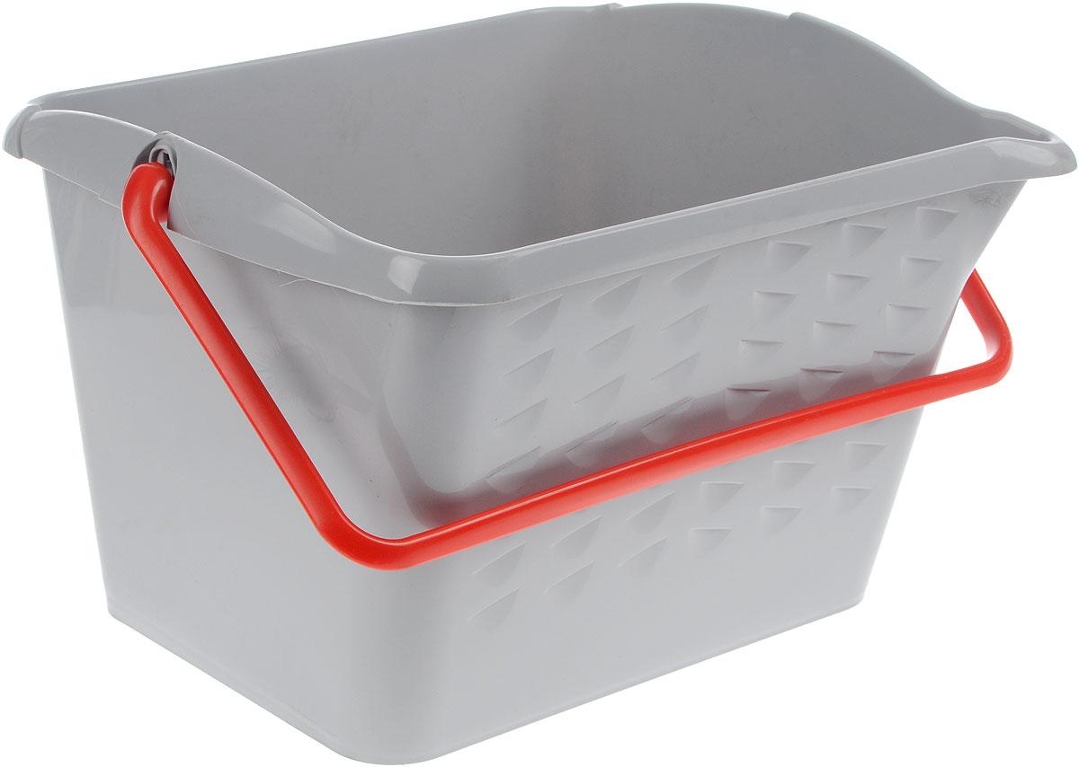 Ведро хозяйственное Fimako, 16 л7000Универсальное ведро Fimako предназначено для любых хозяйственных целей. Можно использовать для работ с лакокрасочными материалами. Изделие изготовлено из прочного пластика. Ведро снабжено удобной пластиковой ручкой, которая фиксируется в вертикальном положении. Одна из стенок изделия имеет ребристую поверхность для удаления излишков краски. Форма ведра позволяет пользоваться валиком или шваброй практически любого размера.