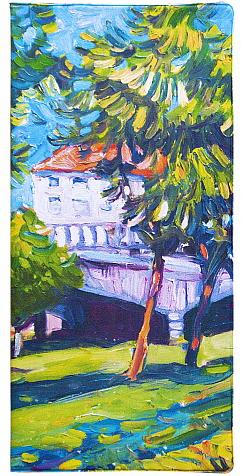 """Обложка для документов Kawaii Factory """"Парк"""", цвет: голубой, зеленый. KW066-000048"""
