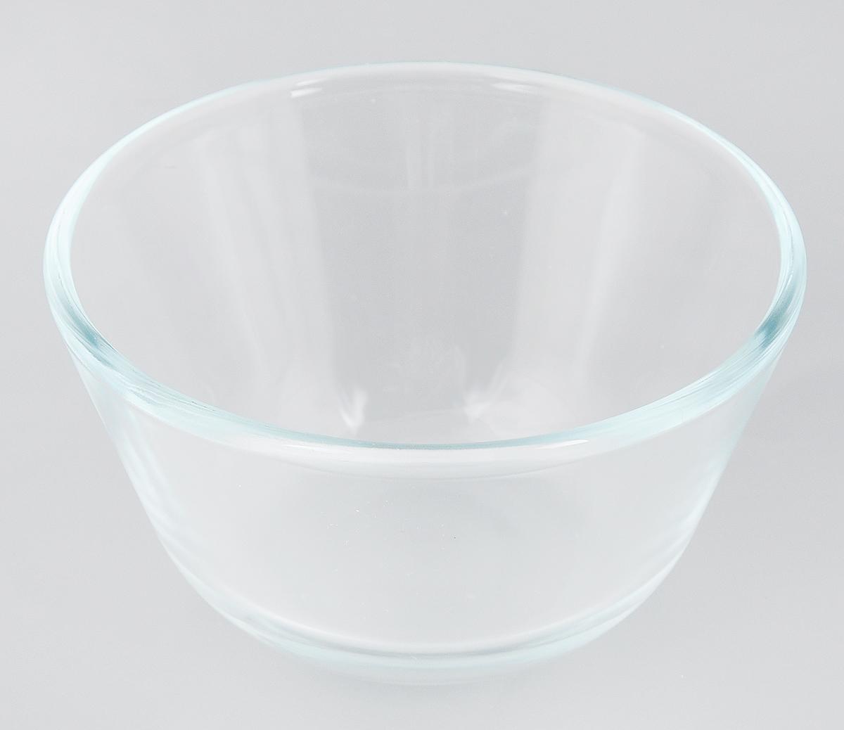 Миска Sсovo, 400 мл610Миска Sсovo изготовлена из термостойкого и экологически чистого стекла. Предназначена для приготовления пищи в духовке, жарочном шкафу и микроволновой печи. Миска прекрасно подойдет для хранения и замораживания различных продуктов, а также для сервировки и декоративного оформления праздничного стола. Миска Sсovo станет незаменимым аксессуаром на кухне для любой хозяйки. Можно мыть в посудомоечной машине. Высота стенки: 6,5 см. Диаметр миски (по верхнему краю): 12,5 см.