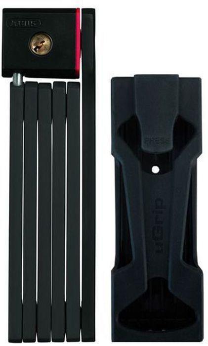 Велозамок Abus Bordo uGrip 5700/80, с ключами, цвет: лаймCRL-3BLНадежный сегментный замок Abus Bordo uGrip объединяет лучшие качества U-замков и цепей - надежность и гибкость. Стальные пластины соединены шарнирами и двигаются относительно друг друга. Достаточная длина для крепления к неподвижному объекту, а также нескольких велосипедов между собой.5-мм стальные пластины соединены шарнирами и движутся относительно друг друга.Замок компактно складывается для удобной транспортировки в чехле на раме.Чехол в комплекте.Ккрепление.Вес: 830 г.Длина: 80 см.Толщина: 5 мм.Тип замка: Английский односторонний.Количество ключей в комплекте: 2 шт.