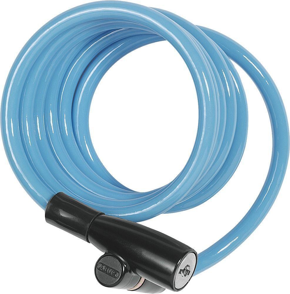 Велозамок с ключом Abus 1950/120 Kids, цвет: голубой431609_ABUS