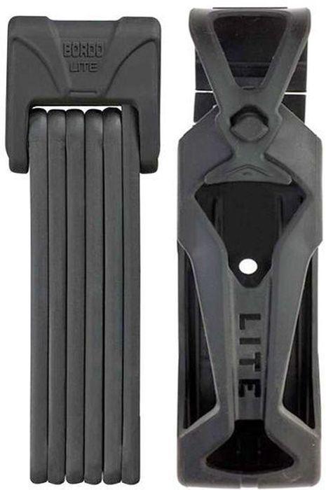 Велозамок Abus Bordo Lite 6050/85, с ключами, цвет: черный1508160Компактный складной велозамок Abus Bordo изготовлен из закаленной стали. Замок состоит из 6 пластин, выполненных из легких материалов и ферросплавов. Имеет мягкое покрытие, которое предотвращает появление царапин на раме. Степень защиты: 7 из 15.Количество ключей: 2 шт.Диаметр стержня: 5 мм.Окружность: 85 см.