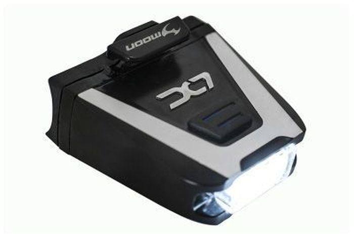 Фонарь передний Moon LX-100, 1 диод 6 режимов, USBWP_LX-100_W1 сверх-яркая супер белый LED светодиод 6 вариантов работы : Стандарт / Высоко / Максимум /Стробоскоп / Мигание /SOS Влагозащищенный / алюминиевый корпус Индикатор разряда и полной зарядки аккумулятора Функция автоматического отключения при полной зарядке Быстросъемное крепление (20-26mm, 27-37mm ) Батарея LiPol (3.7V 550mAh) размер: 46x18x44mm Оптическая линза Боковое освещение