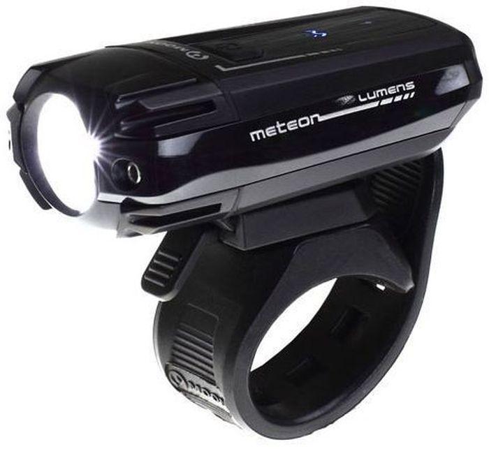 Фонарь передний Moon Meteor, 1 диод, 3 режима, USB, 250 люменMW-1462-01-SR серебристыйТехнические характеристики 1 CREE XT-E (R5) сверх-яркий LED светодиод Заряжаемая lithium polymer батарея( 3.7V 1200mAh) USB зарядка Влагозащищенная алюминиевая защитная крышка 6 вариантов работы: Максимум/ Низко / Стандарт/ Высоко /Мигание/ SOS Быстросъемное крепление на руль ( 22-31.8mm) Быстросъемное крепление на шлем Функция автоматического отключения при полной зарядке Четкие оптические линзы Размер:71 x 43 x 25mm