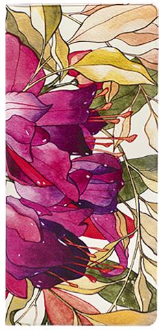 """Обложка для документов Kawaii Factory """"Floral"""", цвет: розовый, бежевый. KW066-000007"""