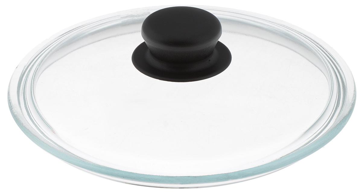 Крышка Sсovo, стеклянная. Диаметр 20 см412Крышка Sсovo изготовлена из термостойкого и экологически чистого стекла с пластиковой ручкой. Изделие удобно в использовании и позволяет контролировать процесс приготовления пищи. Диаметр крышки: 20 см. Диаметр ручки: 4,5 см. Высота ручки: 2,5 см.