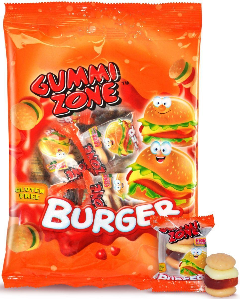 Gummy Zone мармелад бургер, 99 г