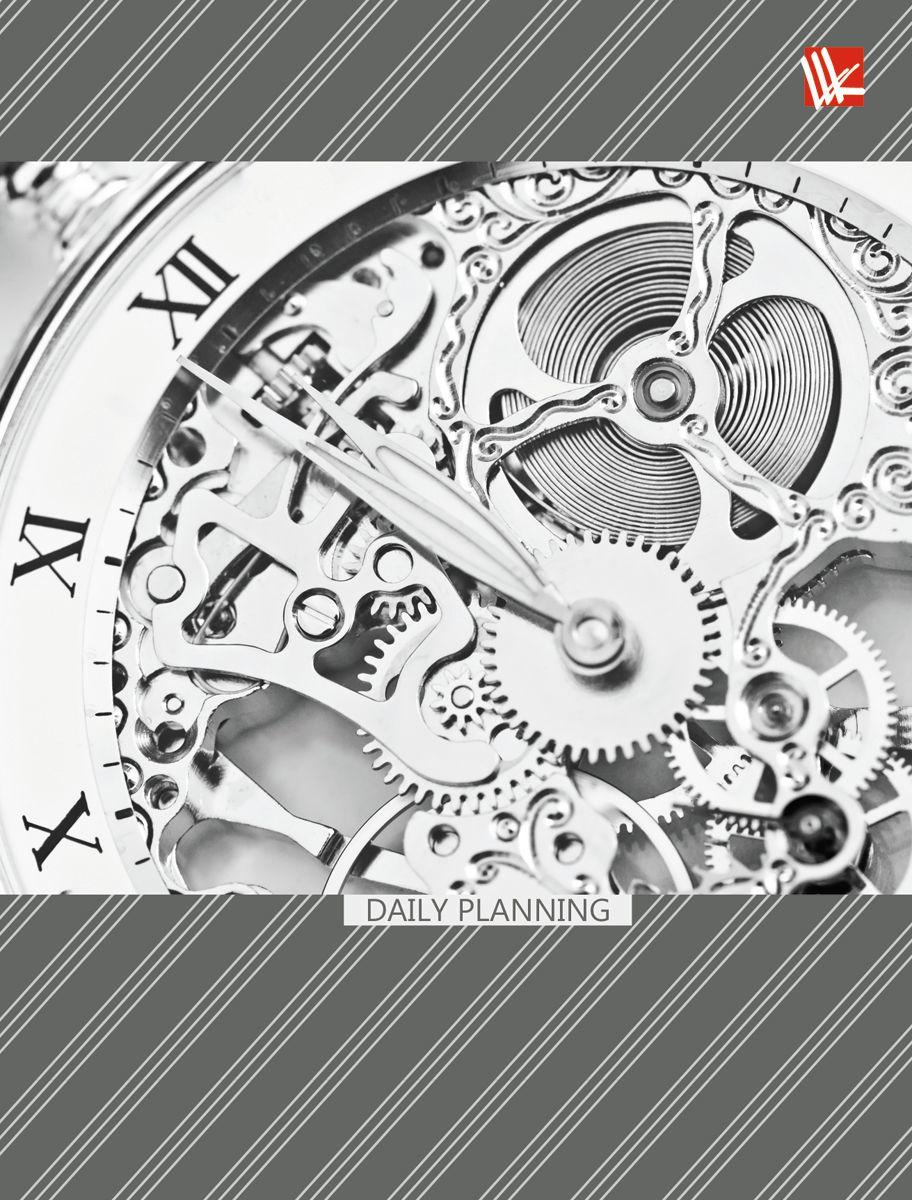 Канц-Эксмо Ежедневник Офисный стиль Время недатированный 112 листов формат А6ЕЖ17611202Ежедневник недатированный в твердой обложке формата А6, 112 листов. Обложка с матовой ламинацией, форзацы - карта России/мира, бумага офсет 60 г/м2, белая, однокрасочная печать. Обширный справочный материал: календарь на 4 года, таблицы мер, весов, размеров, условных обозначений, часовые пояса, коды регионов и др.