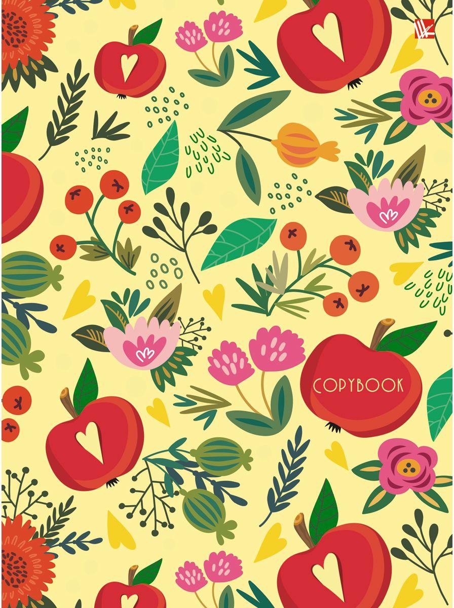 Канц-Эксмо Тетрадь Орнамент Цветущий сад 100 листов в клеткуПБ1004376Тетрадь на кольцах со сменный блоком А5, 100 листов. Твердая обложка, скругленный корешок, 4 кольца.
