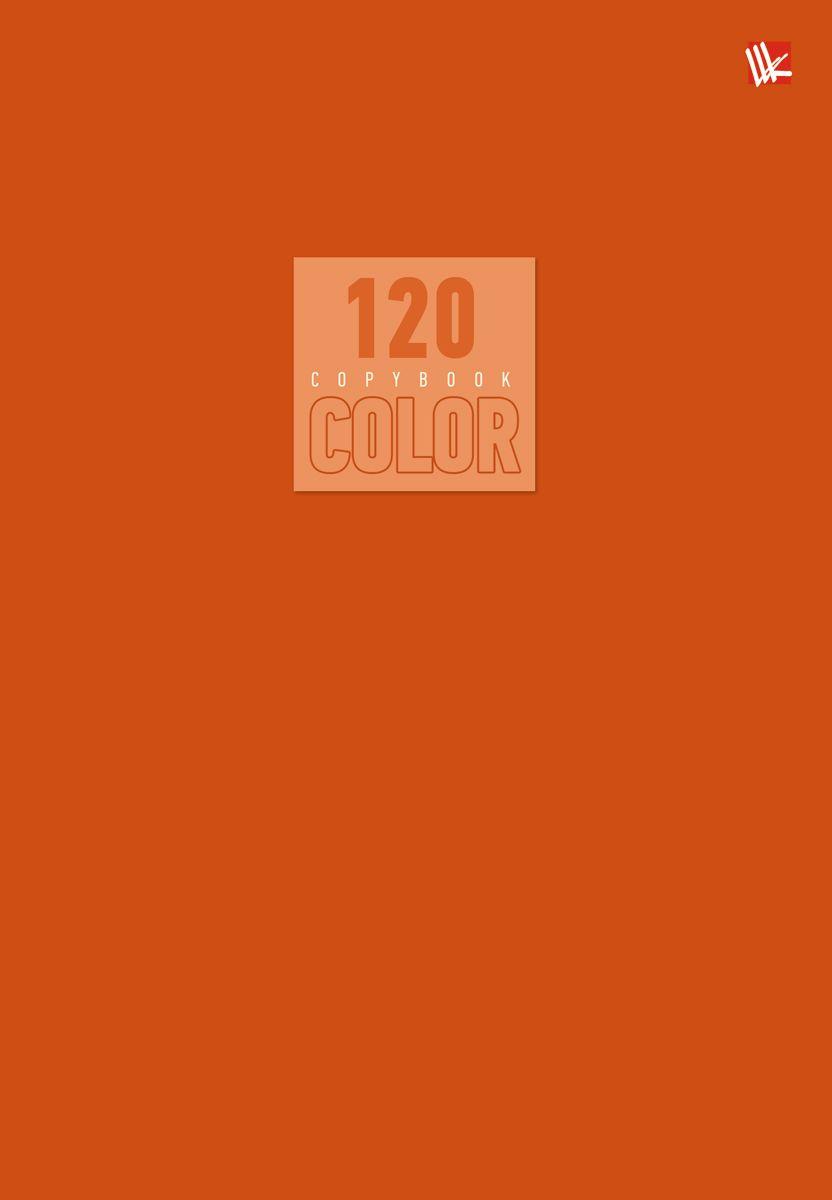 Канц-Эксмо Тетрадь Стиль и цвет 120 листов в клетку цвет оранжевый72523WDТетрадь А5- 120 листов на швейно-клеевом креплении, клетка. Обложка мелованный картон повышенного качества, матовая ламинация. Бумага офсет 60г/м2