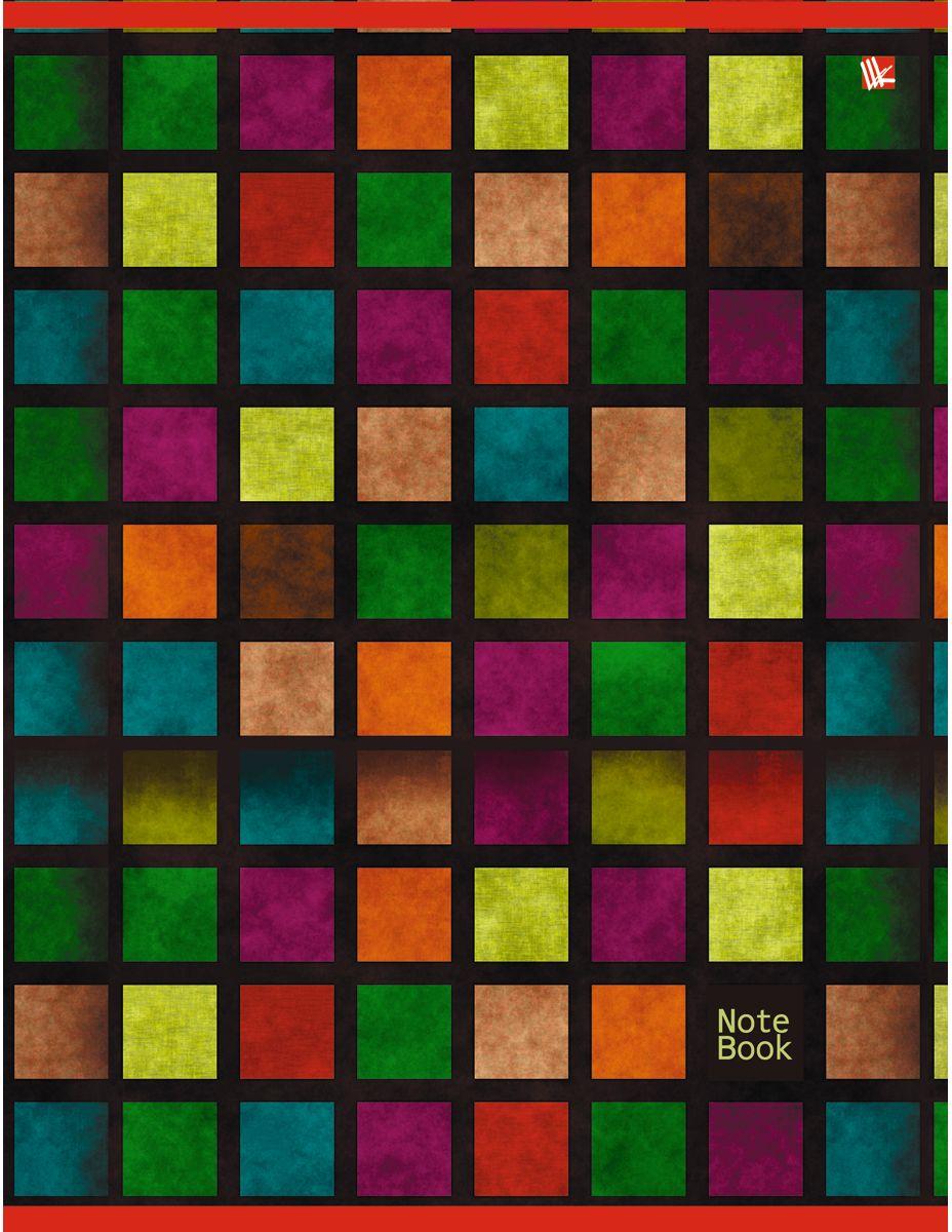 Канц-Эксмо Тетрадь Офисный стиль Мозаика 80 листов в клетку72523WDТетрадь А4 80 листов на скрепке, клетка. Обложка мелованный картон, бумага офсет 60г/м2