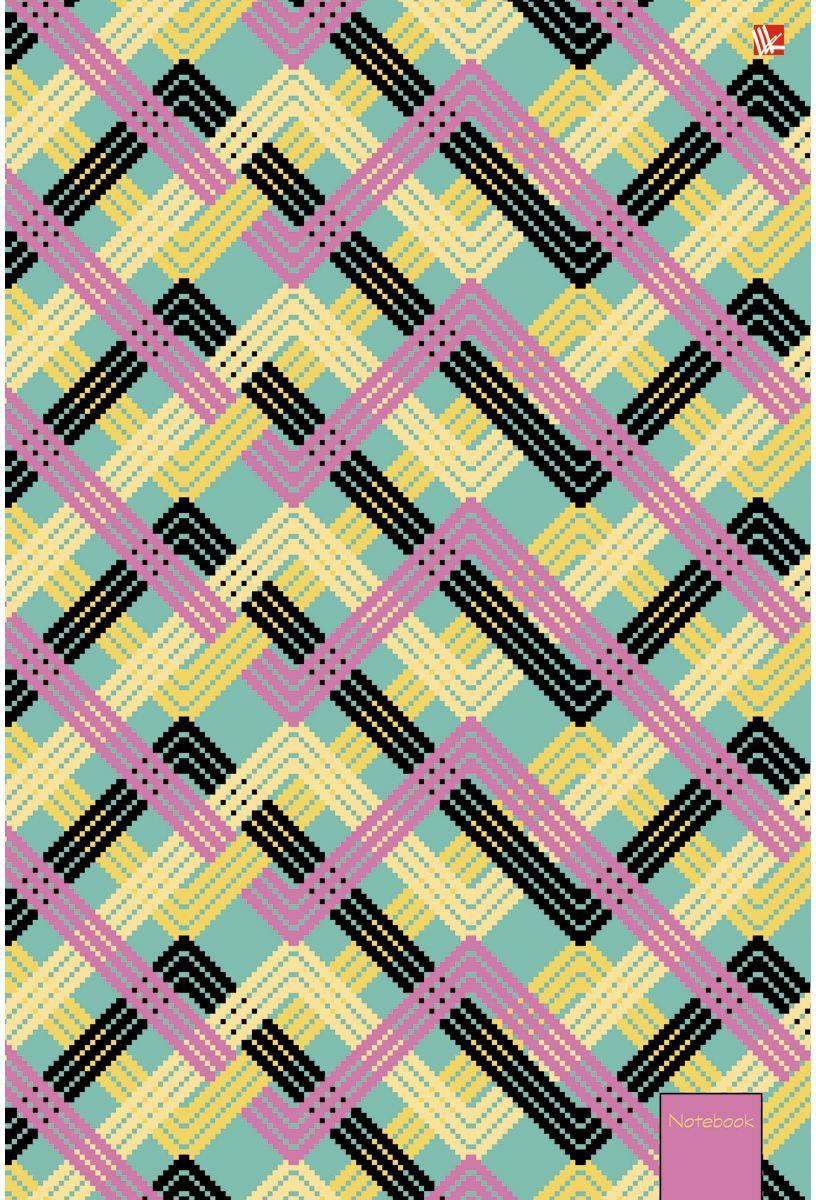 Канц-Эксмо Тетрадь Офисный стиль Переплетение 80 листов в клетку72523WDТетрадь А4 80 листов на евроспирали, клетка. Обложка мелованный картон с выборочным лакированием и блестками. Бумага офсет 60г/м2