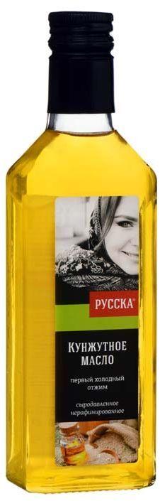Русска масло кунжутное, 250 г0120710Кунжутное сыродавленное нерафинированное масло первого холодного отжима.Используется в японской, китайской, тайской кухне для заправки салатов и соусов, приготовления мясных и овощных блюд.Кунжутное масло чрезвычайно богато различными минеральными веществами и витаминами, необходимыми для нормальной жизнедеятельности человека, такими как цинк, фосфор, кальций, и особенно витамин Е.Одна столовая ложка масла содержит кальций равный трем таблеткам Кальций D-3! Кунжутное масло обладает приятным запахом и привкусом ореха, долго не портится и не становится прогорклым.