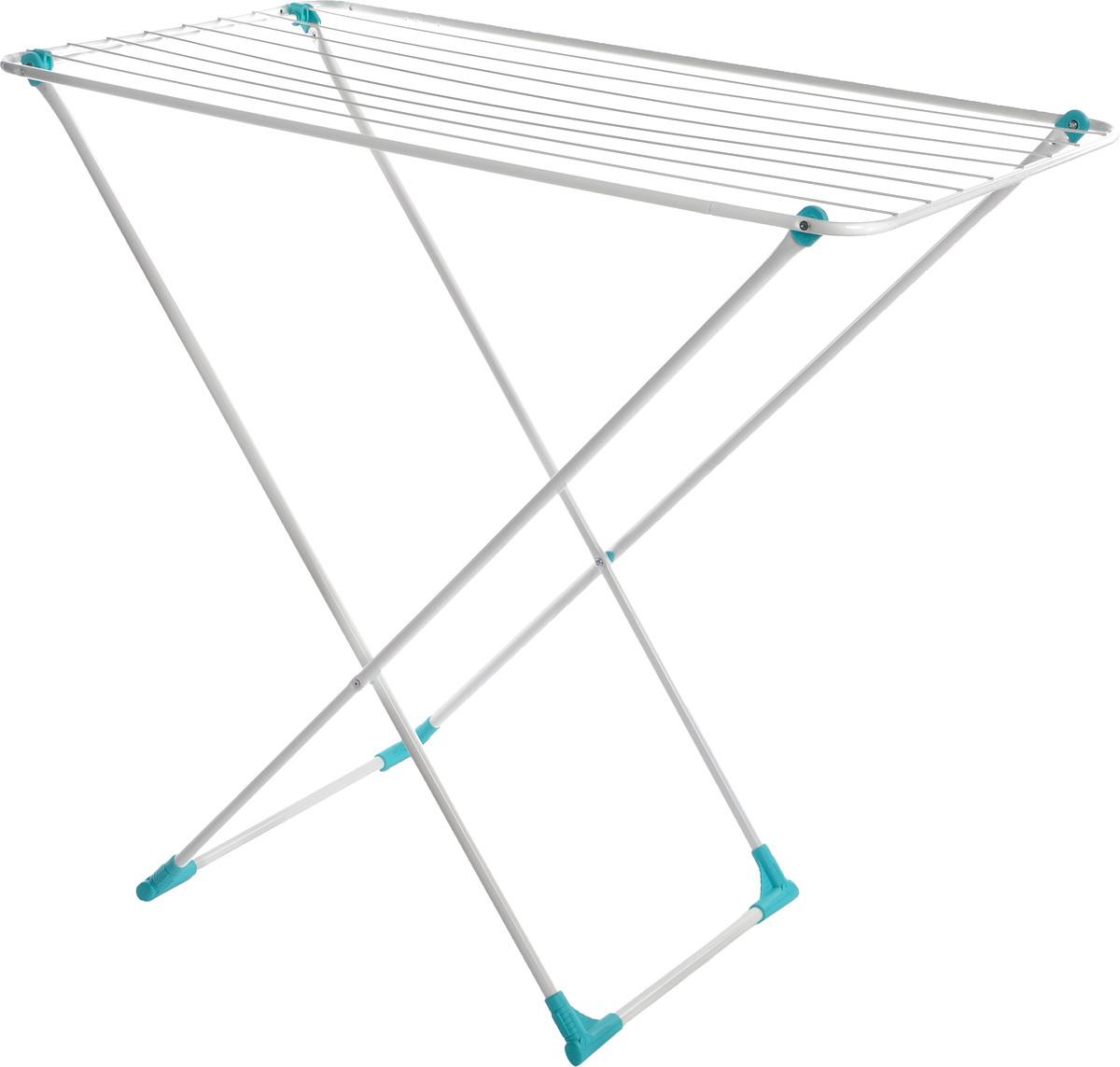 Сушилка для белья Nika, напольная, цвет: белый, 105 х 54 х 95 смСБ3бНапольная сушилка для белья Nika проста и удобна в использовании, компактно складывается, экономя место в вашей квартире. Сушилку можно использовать на балконе или дома. Сушилка имеет специальные пластиковые крепления в основе стоек, которые не царапают пол. Размер сушилки в разложенном виде: 105 x 54 x 95 см. Размер сушилки в сложенном виде: 15 х 54 х 2,5 см. Длина сушильного полотна: 10 м.