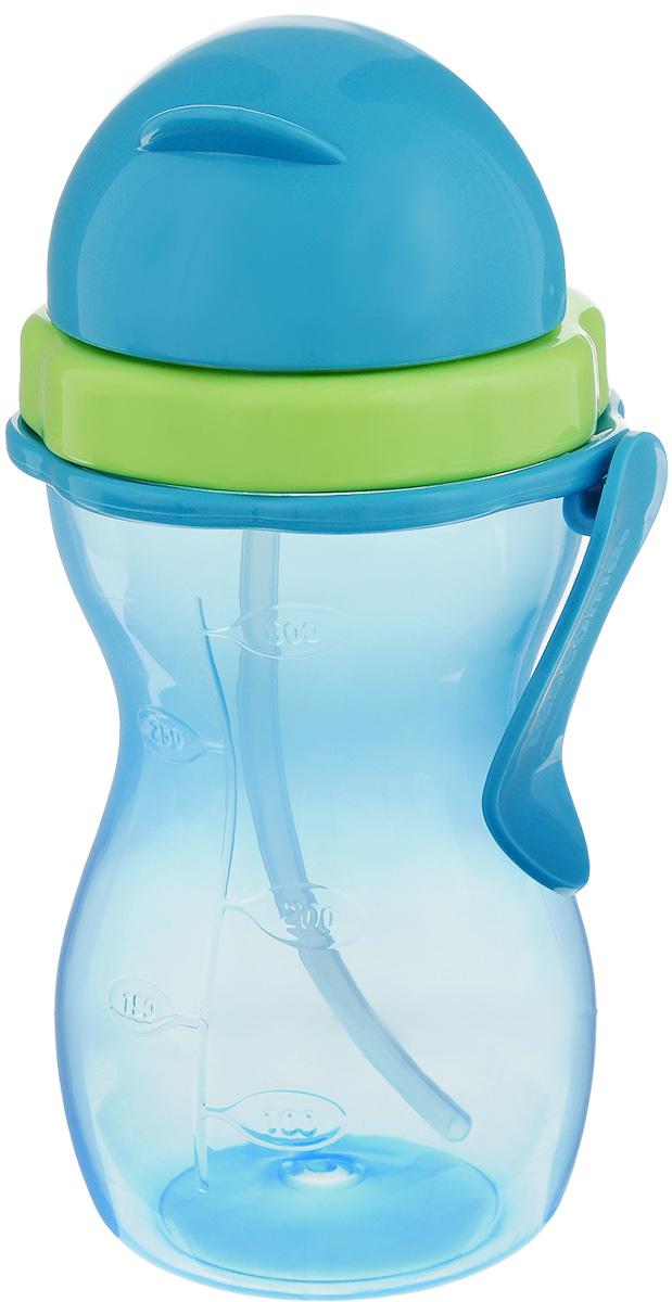 Бутылочка детская Tescoma Bambini, с трубочкой, цвет: голубой, зеленый, 300 мл668172.54Детская бутылочка Tescoma Bambini оснащена гибкой силиконовой трубочкой и уплотнением, шкалой для удобного отмеривания и зажимом для подвешивания. Изготовлена из высококачественного нетоксичного пластика. Подходит для использования в холодильнике и микроволновой печи (без крышки). Контейнер можно мыть в посудомоечной машине. Крышку, трубочку и уплотнение мыть под проточной водой. Подходит для детей от 12 месяцев.