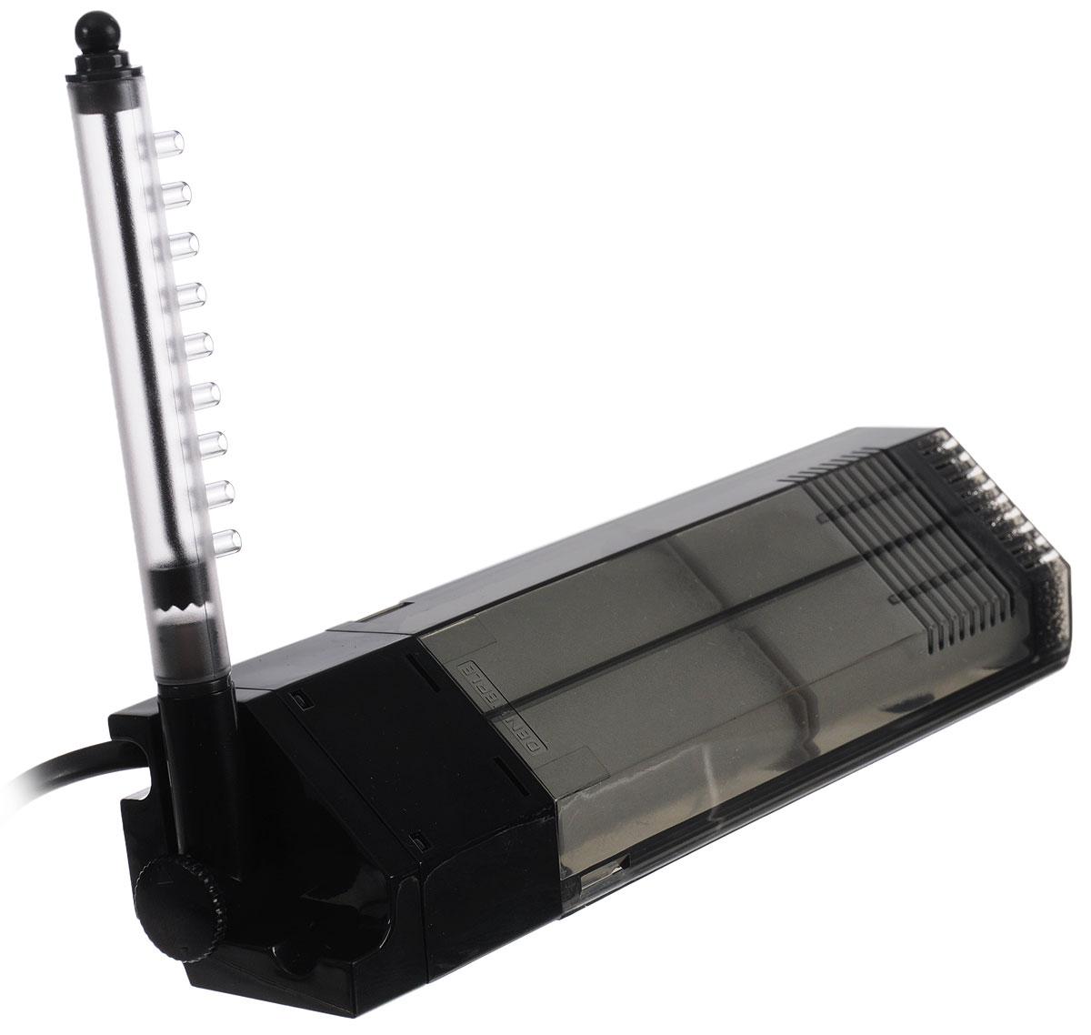 Фильтр для аквариумов Dennerle Nano Eckfilter XL, угловой, 30-60 лDEN5860Фильтр для аквариумов Dennerle Nano Eckfilter XL - это производительный, бесшумный, компактный фильтр с обширной поверхностью для рассеивания полезных бактерий. Безопасен для раков и креветок. Два сменных фильтрующих элемента предназначены для обеспечения постоянной чистоты фильтра. Фильтры чистятся отдельно, что обеспечивает постоянное высокое качество воды. Объем пропускаемой через фильтр воды регулируется, выпуск фильтра поворачивается на 90°. Заборная трубка снабжена встроенным клапаном для удобства очистки фильтра. Кроме того, это энергосберегающий прибор, потребляющий всего 2 ватта электроэнергии. В комплекте инструкция на иностранных языках. Длина провода: 1,4 м.