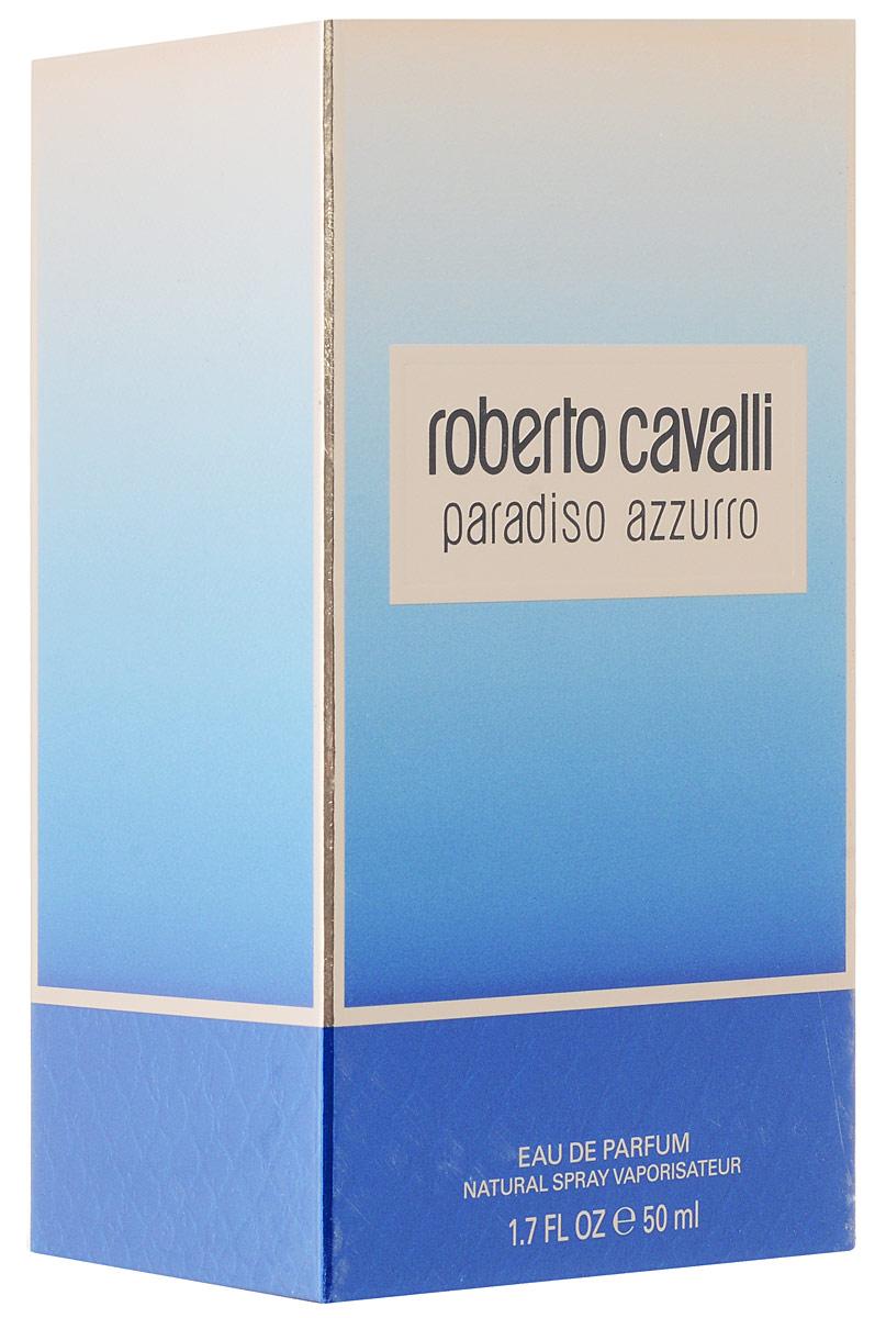 Roberto Cavalli Paradiso Azzurro Парфюмерная вода женская 50 мл75777062000Свежий цветочный акватический парфюм продолжает тему комфортного, спокойного отдыха на лазурных берегах. Изысканный Paradiso Azzurro стал более эфемерным, прохладным, чем оригинальный Paradiso. В утонченном и грациозном аромате великолепно отражены гладка