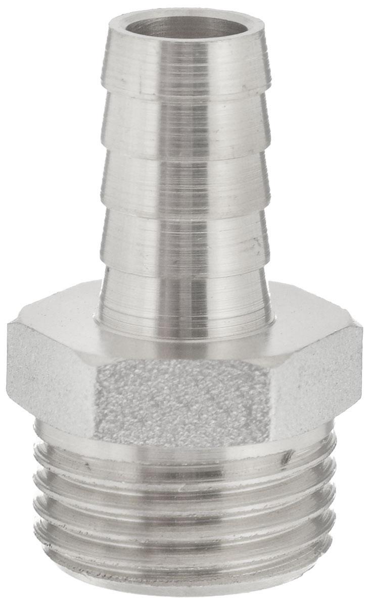 Переходник U-Tec, для резинового шланга, 1/2 х 10 ммUTR 182.N 210/PПереходник U-Tec предназначен для соединения резьбовых соединений с резиновым шлангом. Изделие изготовлено из прочной и долговечной латуни. Никелированное покрытие на внешнем корпусе защищает изделие от окисления. Продукция под торговой маркой U-Tec прошла все необходимые испытания и по праву может считаться надежной. Размер ключа: 21 мм. Присоединительные размеры: 1/2