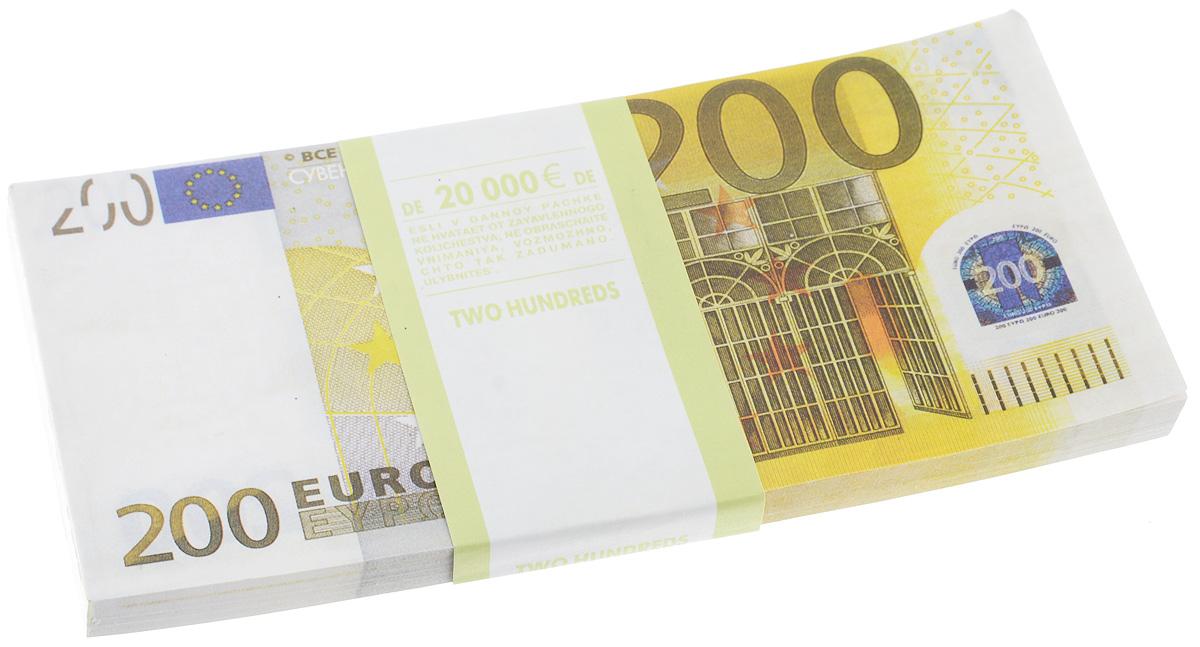 Блокнот Эврика Пачка 200 евро, 90 листов41714Блокнот Эврика Пачка 200 евро - это яркий аксессуар для тех, кто ценит практичные и оригинальные вещи. Блокнот состоит из 90 разноцветных линованных листов. Такой оригинальный блокнот поможет вам записать важные мысли и заметки, а его внешний вид не позволит затеряться среди других вещей на вашем столе.Размер одного листа: 7,3 х 15,5 см.