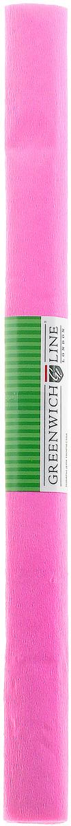 Greenwich Line Бумага крепированная цвет розовый 50 х 250 см72523WDКрепированная бумага Greenwich Line - отличный вариант для воплощения творческих идей не только детей, но и взрослых. Бумага с плотностью 32 г/м2 прекрасно подходит для упаковки хрупких изделий, при оформлении букетов и создании сложных цветовых композиций, для декорирования и других оформительских работ. Насыщенный цвет бумаги сделает поделки по-настоящему яркими. Кроме того, крепированная бумага Greenwich Line поможет увлечь ребенка, развивая интерес к художественному творчеству, эстетический вкус и восприятие, увеличивая желание делать подарки своими руками, воспитывая самостоятельность и аккуратность в работе. Такая бумага поможет вашему ребенку раскрыть свои таланты.