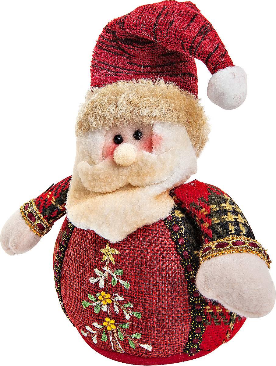 Игрушка новогодняя мягкая Mister Christmas Дед Мороз, высота 12 смCHL-508SNМягкая новогодняя игрушка Mister Christmas Дед Мороз, изготовленная из текстиля, прекрасно подойдет для праздничного декора дома. Изделие можно разместить в любом понравившемся вам месте. Новогодняя игрушка несет в себе волшебство и красоту праздника. Создайте в своем доме атмосферу веселья и радости, украшая дом красивыми игрушками, которые будут из года в год накапливать теплоту воспоминаний. Высота игрушки: 12 см.