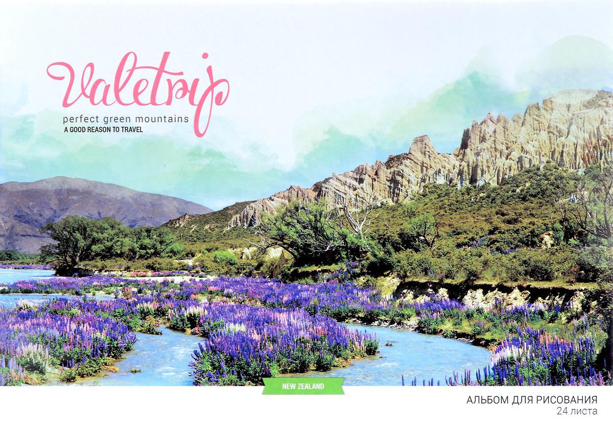ArtSpace Альбом для рисования Romantic Places New Zealand 24 листа А24ф_9145