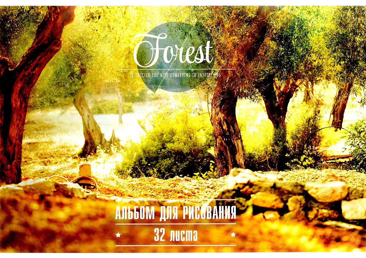 ArtSpace Альбом для рисования Природа Inspiration 32 листаА32кл_3767Альбом для рисования ArtSpace Природа. Inspiration будет вдохновлять ребенка на творческий процесс. Альбом изготовлен из белоснежной бумаги с яркой обложкой из плотного картона, оформленной изображением цветущих деревьев в лесу. Внутренний блок альбома состоит из 32 листов бумаги. Тип скрепления альбома - склейка. Высокое качество бумаги позволяет рисовать в альбоме карандашами, фломастерами, акварельными и гуашевыми красками. Во время рисования совершенствуются ассоциативное, аналитическое и творческое мышления. Занимаясь изобразительным творчеством, малыш тренирует мелкую моторику рук, становится более усидчивым и спокойным.