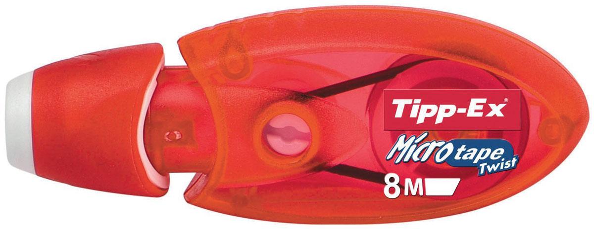 Bic Корректирующая лента Tipp-Ex Micro Tape 8 м цвет красный B8705001_красный