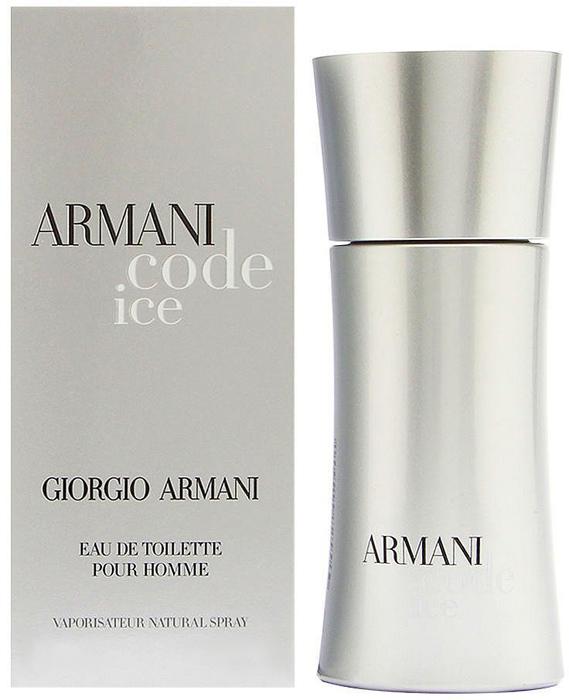 "Giorgio Armani ""Code Ice"" Туалетная вода мужская, 50 мл 961739"