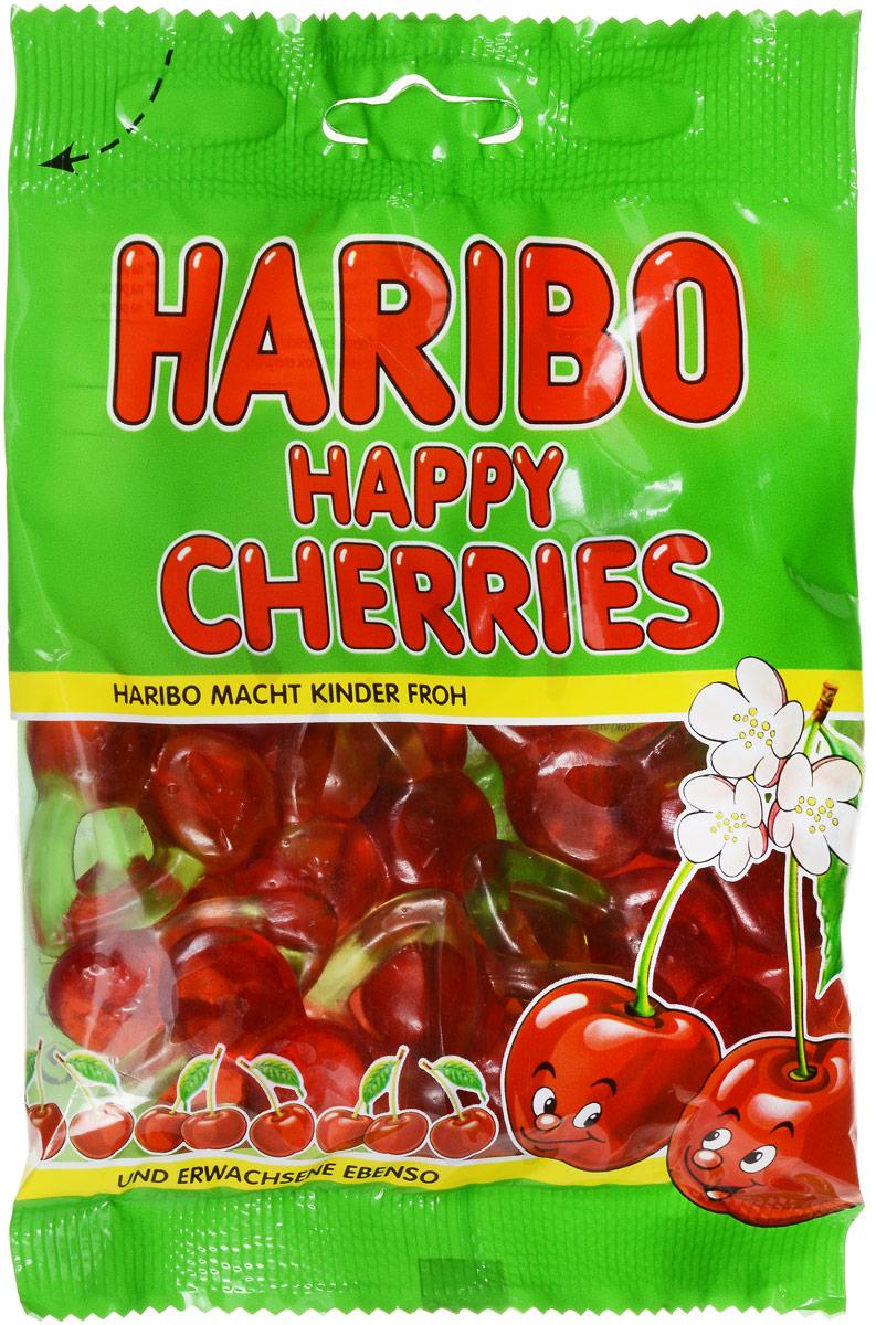 Haribo Happy Cherries жевательный мармелад, 100 г0120710Жевательный мармелад Haribo Happy Cherries - это наслаждение ягодами, только что сорванными с дерева! Если вы любите сочный и освежающий вкус спелых вишен, то данный мармелад - это то, что вам нужно!Уважаемые клиенты! Обращаем ваше внимание, что полный перечень состава продукта представлен на дополнительном изображении.