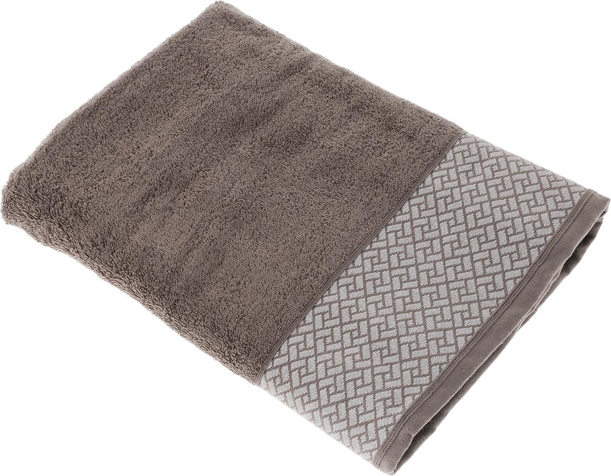 Полотенце Tete-a-Tete Лабиринт, цвет: кофе, 70 х 140 смУП-010-02кМахровое полотенце Tete-a-Tete Лабиринт, изготовленное из натурального хлопка, подарит массу положительных эмоций и приятных ощущений. Полотенце отличается нежностью и мягкостью материала, утонченным дизайном и превосходным качеством. Данный дизайн был разработан, как мужская линейка, - строгие насыщенные цвета и геометрический рисунок на бордюре. Полотенце прекрасно впитывает влагу, быстро сохнет и не теряет своих свойств после многократных стирок. Махровое полотенце Tete-a-Tete Лабиринт станет прекрасным дополнением в дизайне ванной комнаты. Полотенце, упакованное в красивую коробку, может послужить отличной идеей подарка.