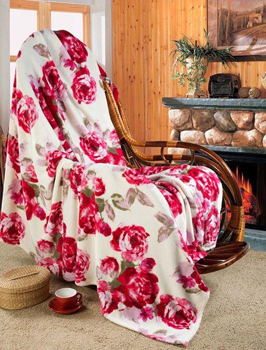 Покрывало Guten Morgen Розы, 150 х 200 смРКрозы-150-200Мягкое покрывало Guten Morgen, изготовленное из флиса (100% полиэстера), может стать не только красивым и практичным аксессуаром для интерьера вашей спальни, но и олицетворением уюта и теплоты вашего дома. Как приятно завернуться в теплое покрывало с чашечкой ароматного чая и скоротать за хорошей книгой долгий зимний вечер.