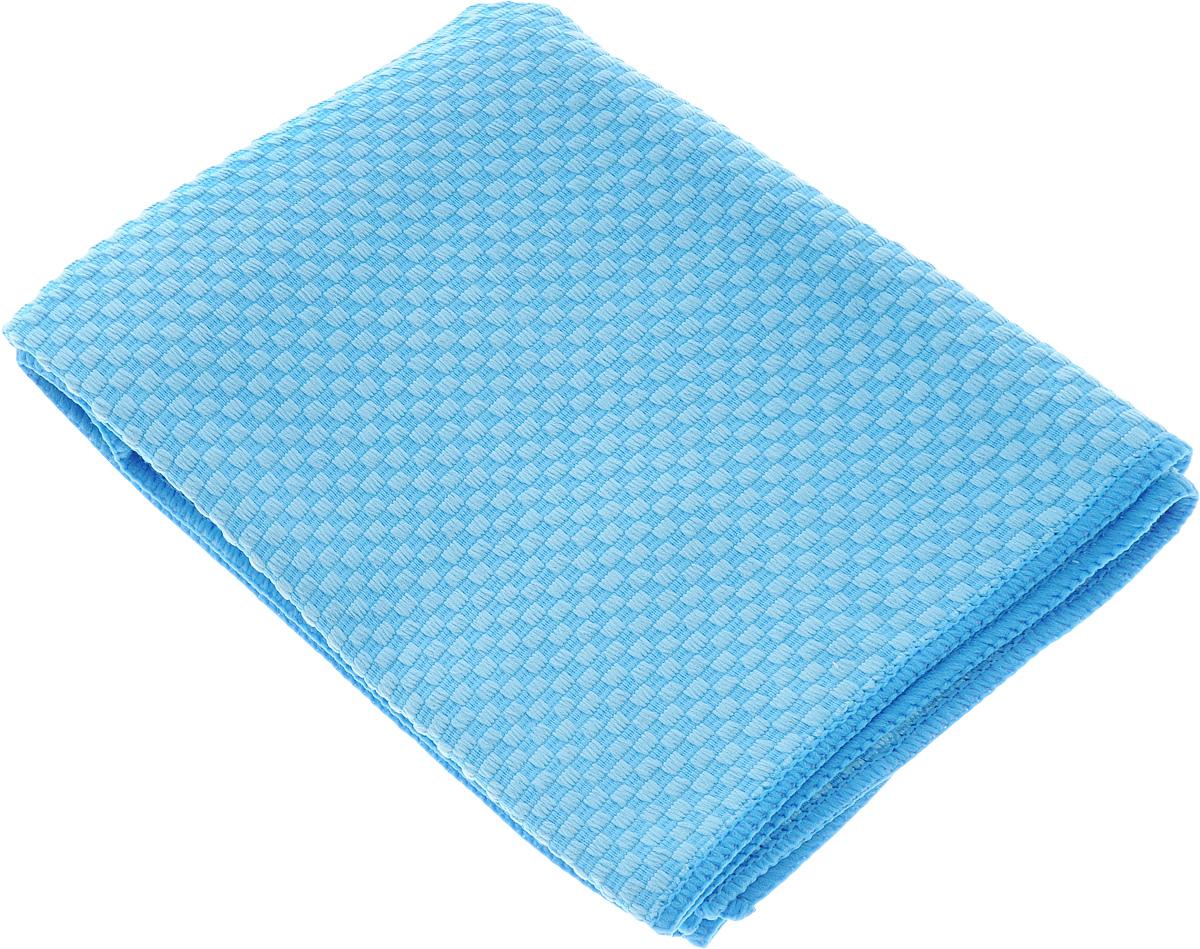 Полотенце кухонное Home Queen, цвет: голубой, 40 х 60 см43_голубойЗамечательное кухонное полотенце Home Queen изготовлено из микрофибры и оформлено клетчатым принтом. Мягкий материал приятен на ощупь, хорошо впитывает влагу. Полотенце поможет навести порядок на кухне, насухо протереть вымытую посуду или ваши руки.