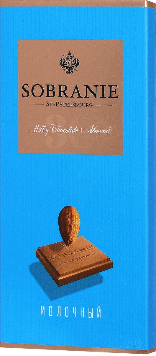 Sobranie молочный шоколад с орехами, 90 г0120710Sobranie — особый шоколад, в котором соединяются верность российским кондитерским традициям, бескомпромиссность качества и изысканность вкуса. Созданный по бережно хранимому рецепту прошлоговека, шоколад Sobranie изготавливается исключительно из отборных какао-бобов с Берега Слоновой Кости.Уважаемые клиенты! Обращаем ваше внимание на то, что упаковка может иметь несколько видов дизайна. Поставка осуществляется в зависимости от наличия на складе.