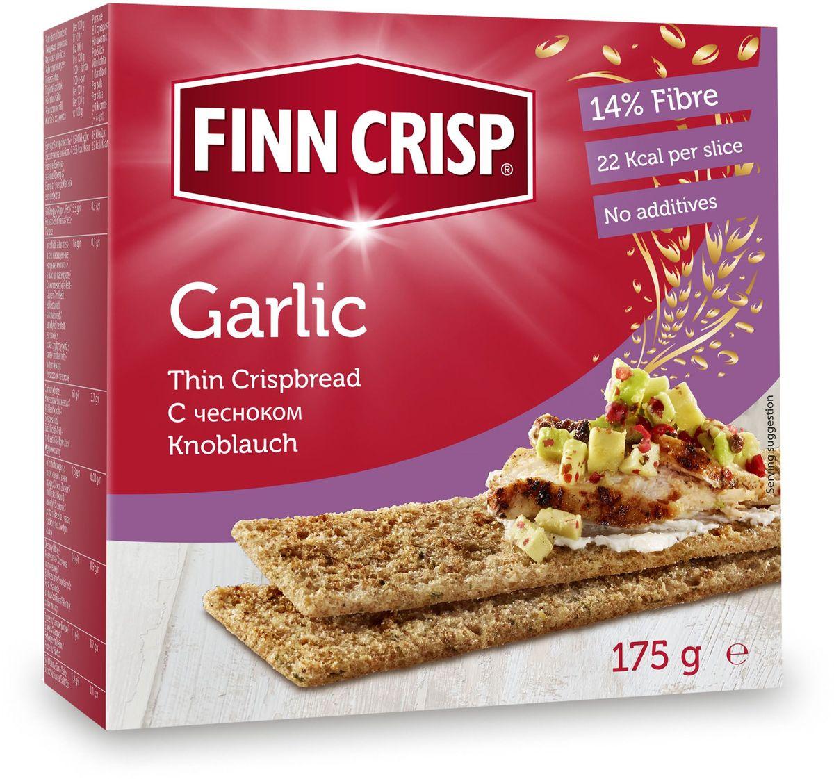 Finn Crisp Garlic хлебцы с чесноком, 175 г20126В 1952 году началось производство сухариков FINN CRISP (ФИНН КРИСП), когда стартовали Олимпийские Игры в Хельсинки (Финляндия). Многие годы натуральные ржаные сухарики FINN CRISP отражают дух Финляндии для миллионов покупателей по всему миру, заботящихся о здоровом питании. Высушивать хлеб - давняя финская традиция и FINN CRISP до сих пор придерживаются этой традиции создавая хлебцы по старому классическому финскому рецепту. Бренд FINN CRISP принадлежит компании VAASAN Group's. VAASAN - это крупнейшая хлебопекарная компания в Балтийском регионе со столетней историей, занимающаяся производством продукции для правильного и здорового питания. Занимающая второе место по производству сухариков и хлебцев, а её продукция экспортируются в более чем 50 государств!