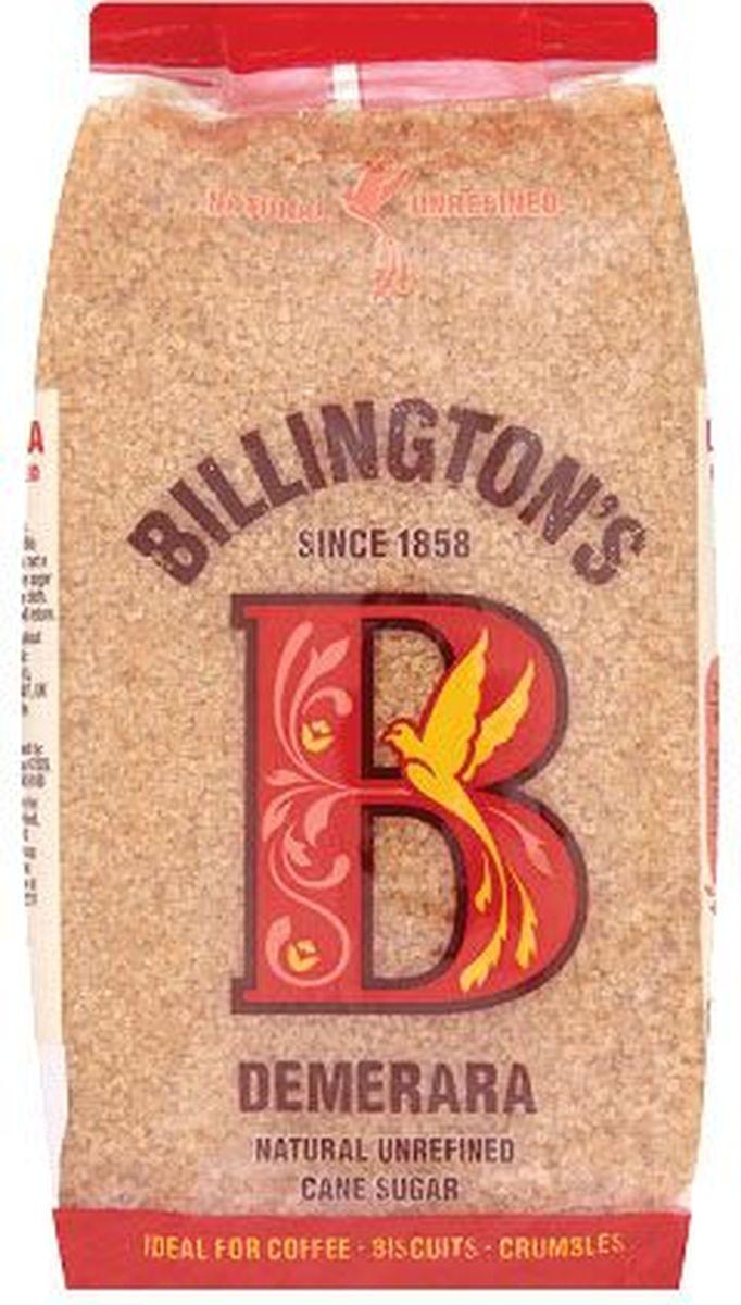 Billingtons Demerara сахар нерафинированный, 1 кг0120710Высококачественный сахар Billington's производят из элитных сортов тростника, который подвергается минимальной технической обработке (не пропускают через костяные фильтры), что позволяет сохранить природные минералы, придающие продукту характерный вкус и запах. Нерафинированный коричневый тростниковый сахар содержит в своем составе кальций, железо, магний, фосфор, калий и даже протеины, которые полностью отсутствуют в обычном сахаре.